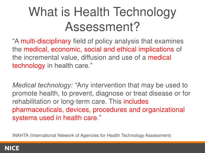 What is Health Technology Assessment?