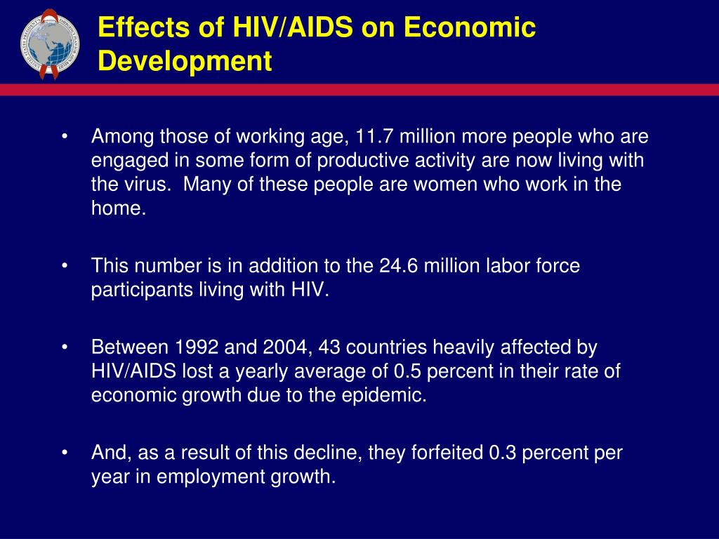 Ppt  Aids On Economic Development And