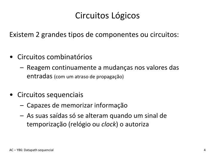 Circuitos Lógicos