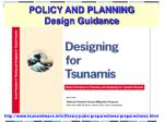 policy and planning design guidance