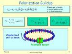 polarization buildup