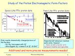space like ffs proton data