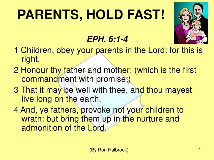 parents hold fast n.