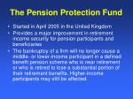 the pension protection fund