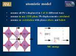 atomistic model