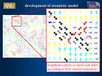 development of atomistic model3