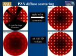 pzn diffuse scattering