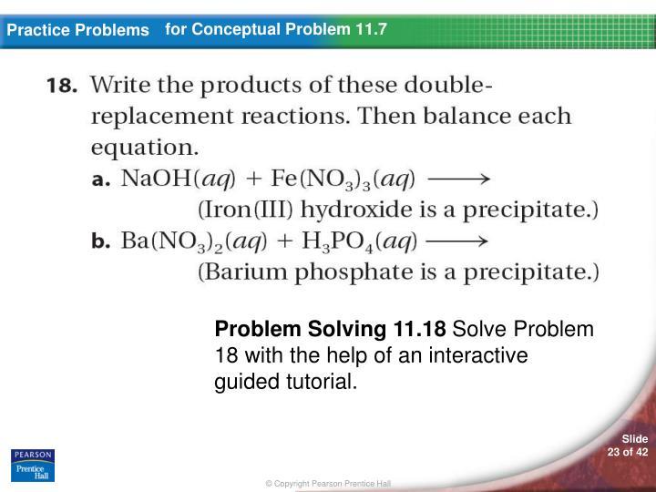 for Conceptual Problem 11.7