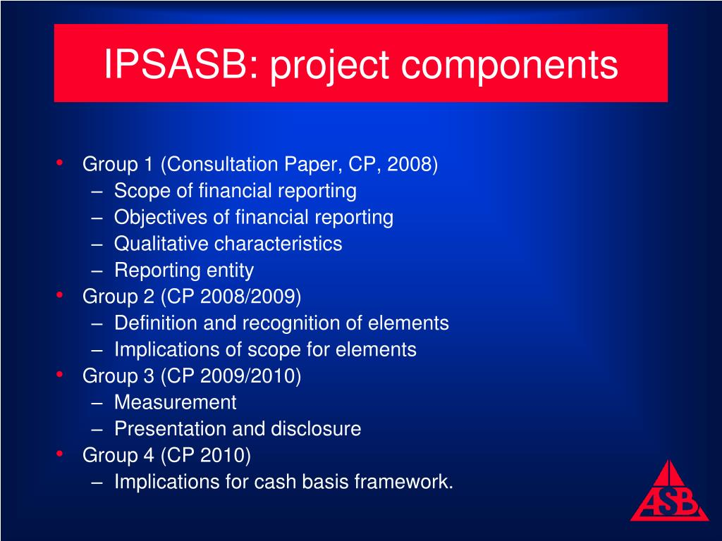 PPT - Developing the Public Sector Conceptual Framework