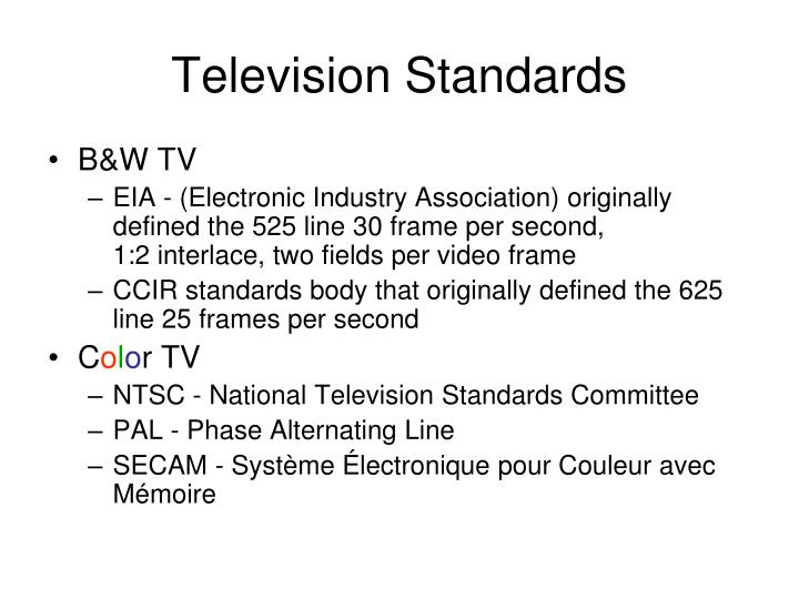 Television Standards
