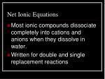 net ionic equations1