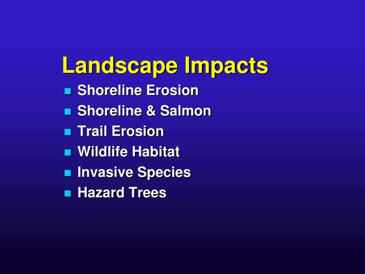Landscape Impacts