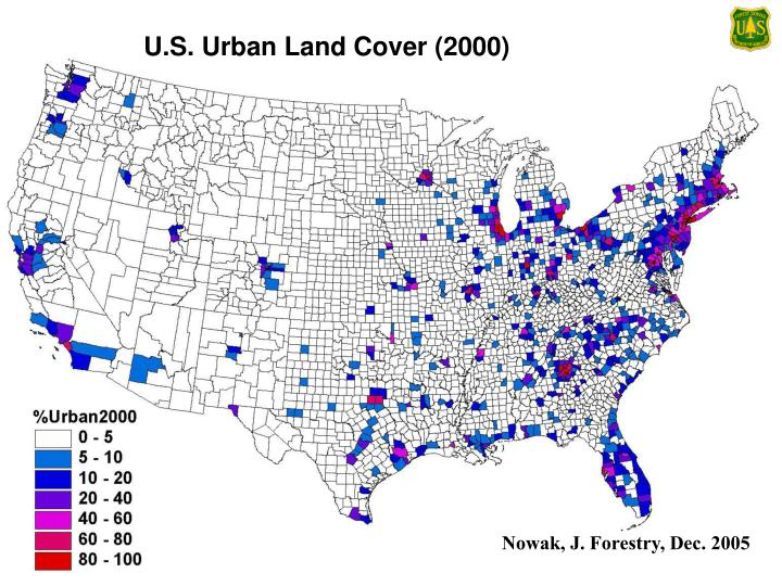 U.S. Urban Land Cover (2000)