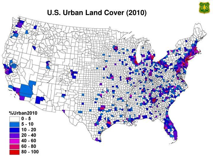U.S. Urban Land Cover (2010)