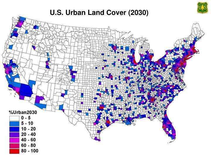 U.S. Urban Land Cover (2030)