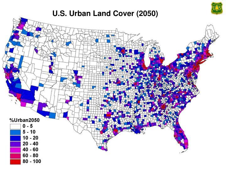 U.S. Urban Land Cover (2050)