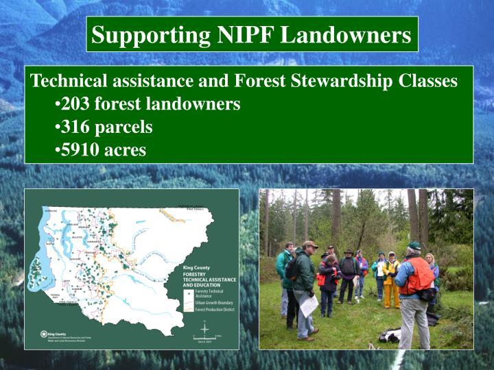 Supporting NIPF Landowners