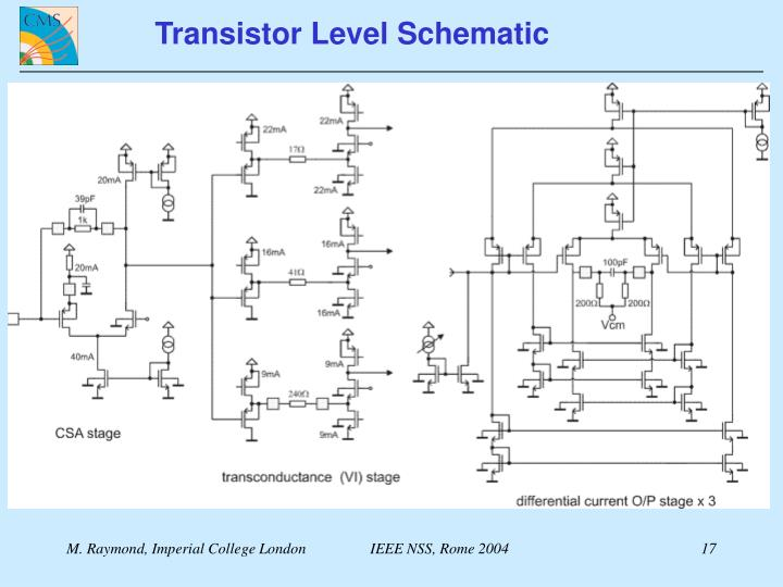 Transistor Level Schematic