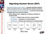 signaling system seven ss7