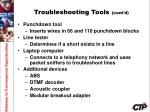 troubleshooting tools cont d2