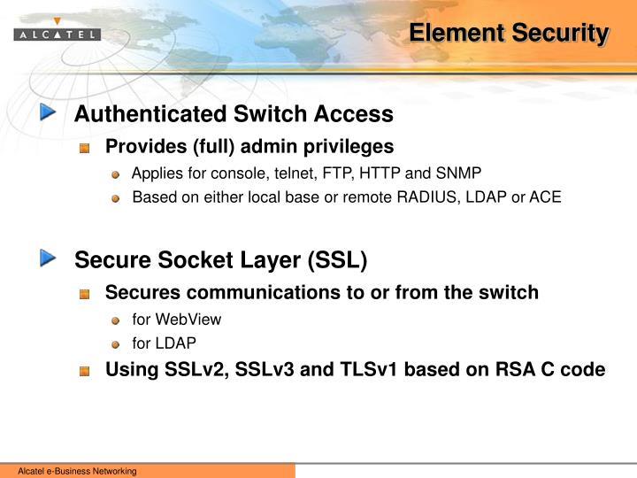 Element Security
