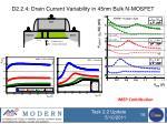 d2 2 4 drain current variability in 45nm bulk n mosfet