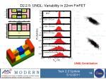 d2 2 5 ungl variability in 22nm finfet