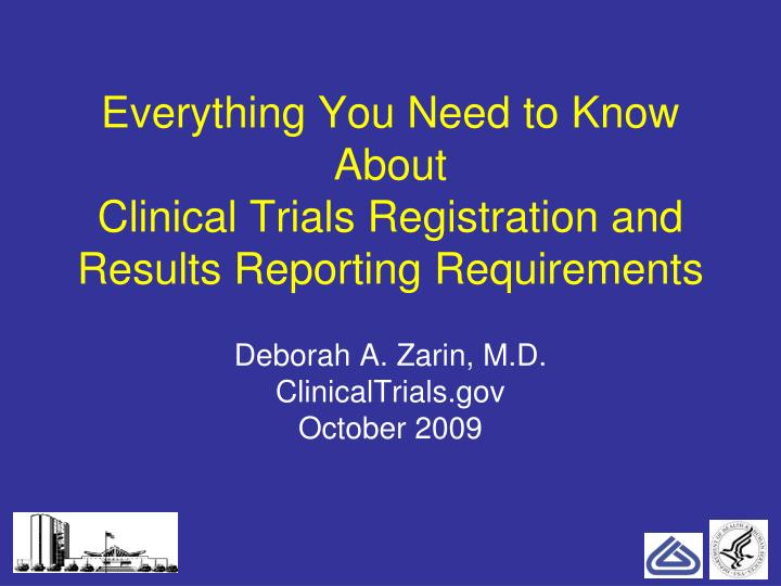 everything you need to know about clinical trials registration and results reporting requirements n.