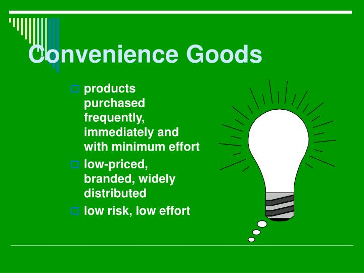 Convenience Goods