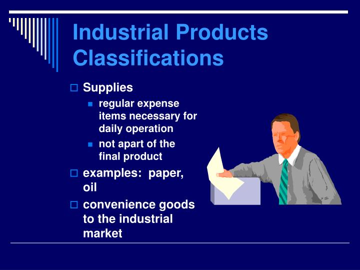 Industrial Products Classifications