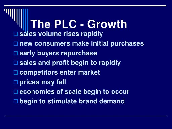 The PLC - Growth