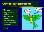comunicar principios1