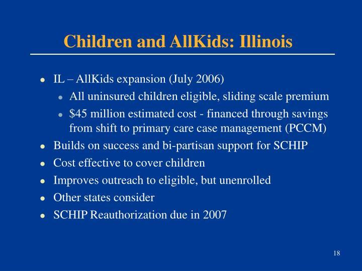 Children and AllKids: Illinois