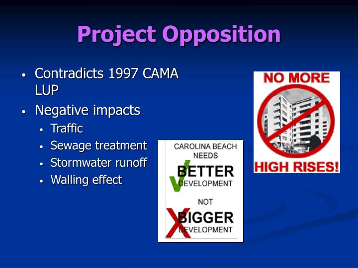 Project Opposition