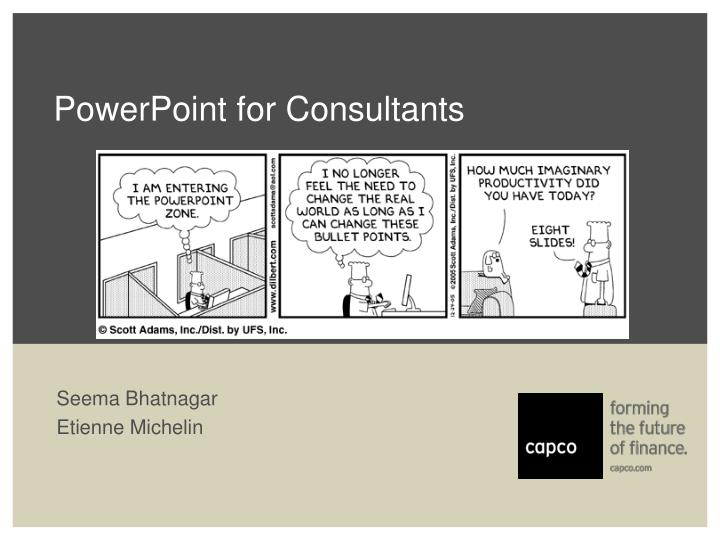 powerpoint for consultants n.