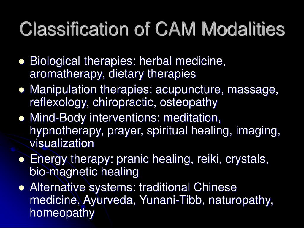 PPT - Introduction to Integrative Medicine and Complementary