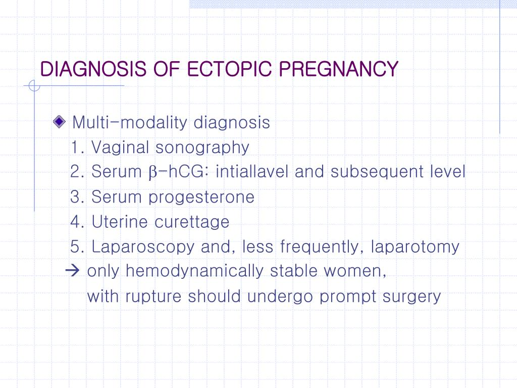 PPT - Ch 10 ECTOPIC PREGNANCY PowerPoint Presentation - ID:4568323