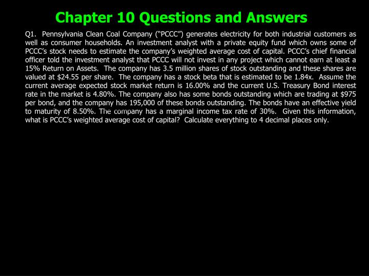 chapter 10 questions and answers n.