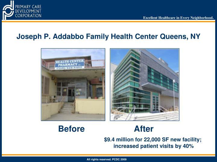 Joseph P. Addabbo Family Health Center Queens, NY