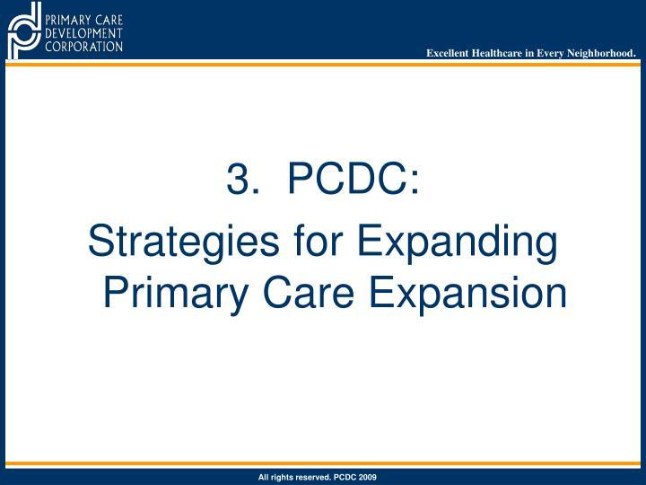3.  PCDC: