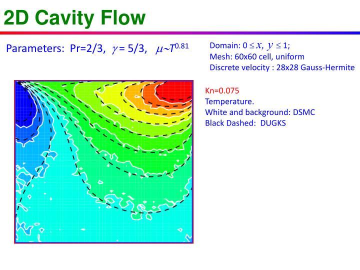 2D Cavity Flow