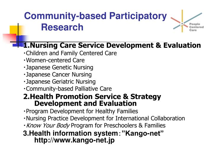 community based participatory research essay