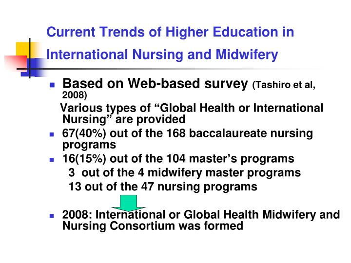 higher education and midwifery Higher education in developing countries face a particular challenge half of the world's higher education students are found in developing countries, placing great strain on an already under.