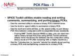pck files 3