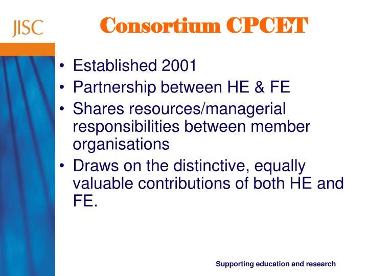 Consortium CPCET