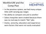 workforum and the comp plan