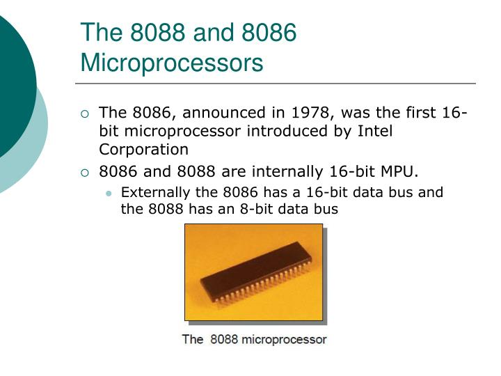 the 8088 and 8086 microprocessors n.