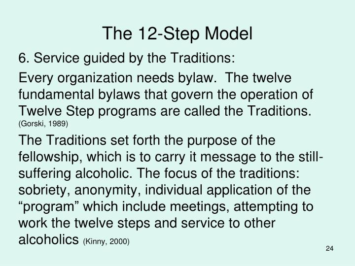 The 12-Step Model