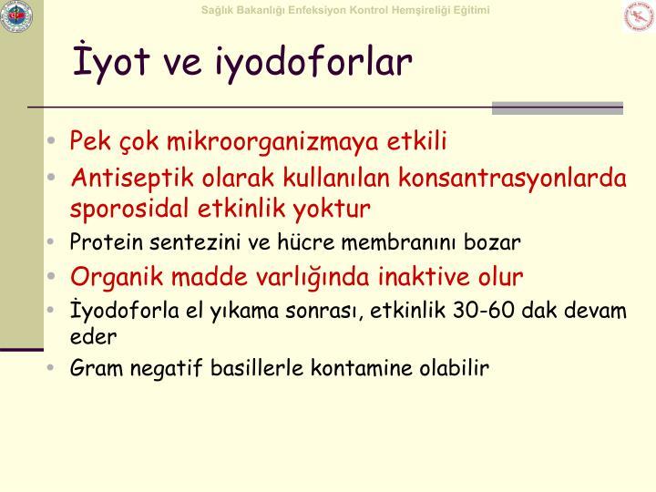İyot ve iyodoforlar