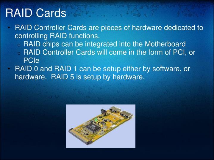RAID Cards